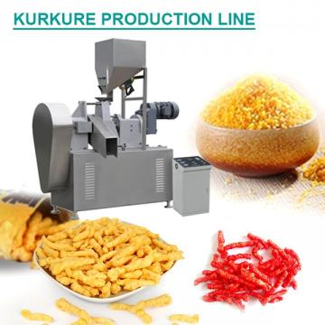 Factory Supply Fully Automatic Kurkure Production Line,SGS Certification