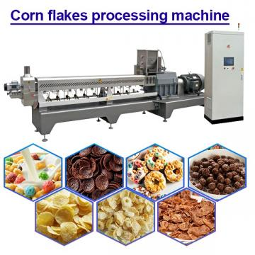 30KW Corn Flakes Making Machine Corn Flakes Production Line