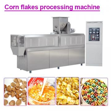 100KW 304 Stainless Steel Corn Flakes Processing Machine,Fully Automatic