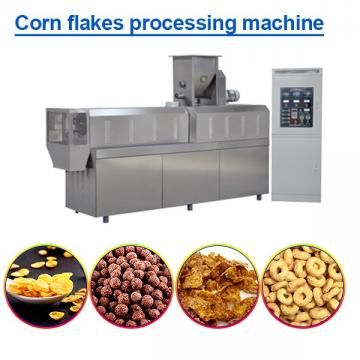 70KW ISO9001 Certification Corn Flakes Processing Machine,Fully Aotomatic