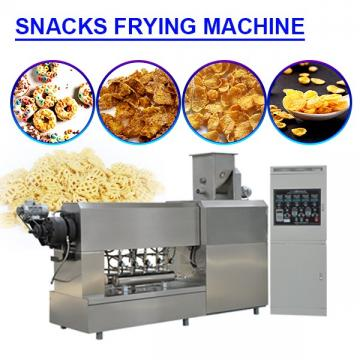 CE Certification 380v snacks frying machine with self-cleaning