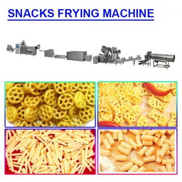 83kw automatically snacks frying machine with operation flexible