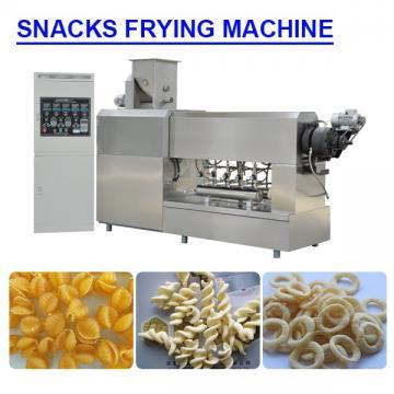 Customzied Energy saving snacks frying machine with 100-120kg/h Capacity
