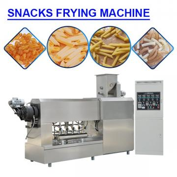 Higher Efficiency Stainless Steel Snacks Frying Machine With FDA Certification