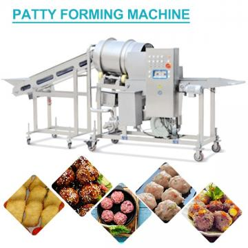 Easy Operation 304 Stainless Steel Patty Forming Machine CE Certification