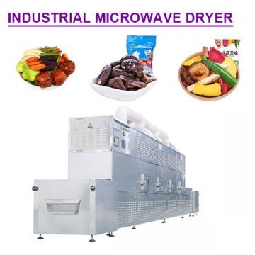 Hot Air Cycle  Multifunction industrial microwave dryer with fruits as raw material