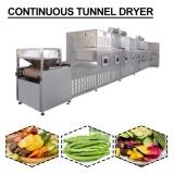 CE Certification 380V Continuous Tunnel Dryer With Long Service LifeDesign