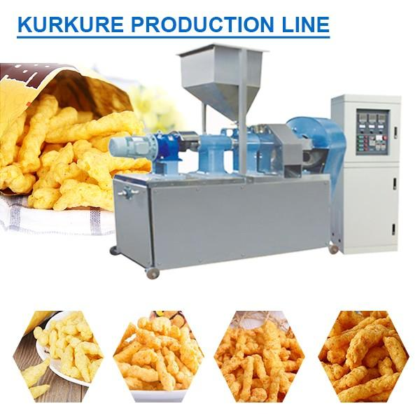100Kw ISO9001 Certification Kurkure Production Line With Long Service Life #1 image