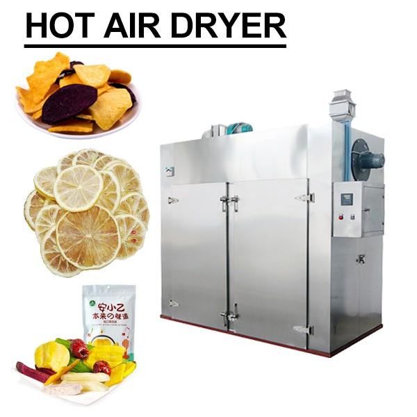 Ultra High Pressure 100KPa High Efficiency Hot Air Dryer For Fruits #1 image